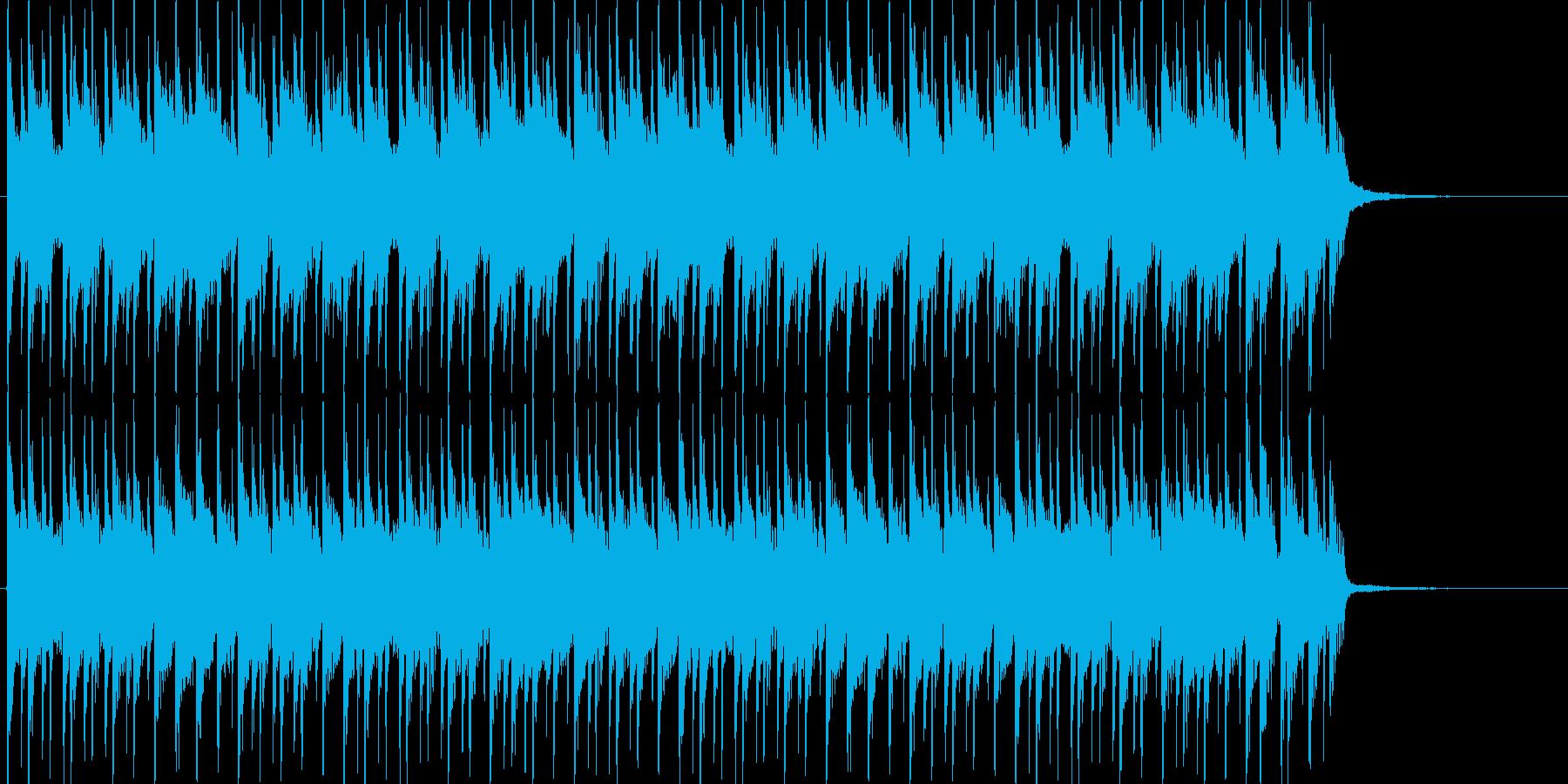 おもちゃで遊ぶような可愛い曲【ループ可】の再生済みの波形