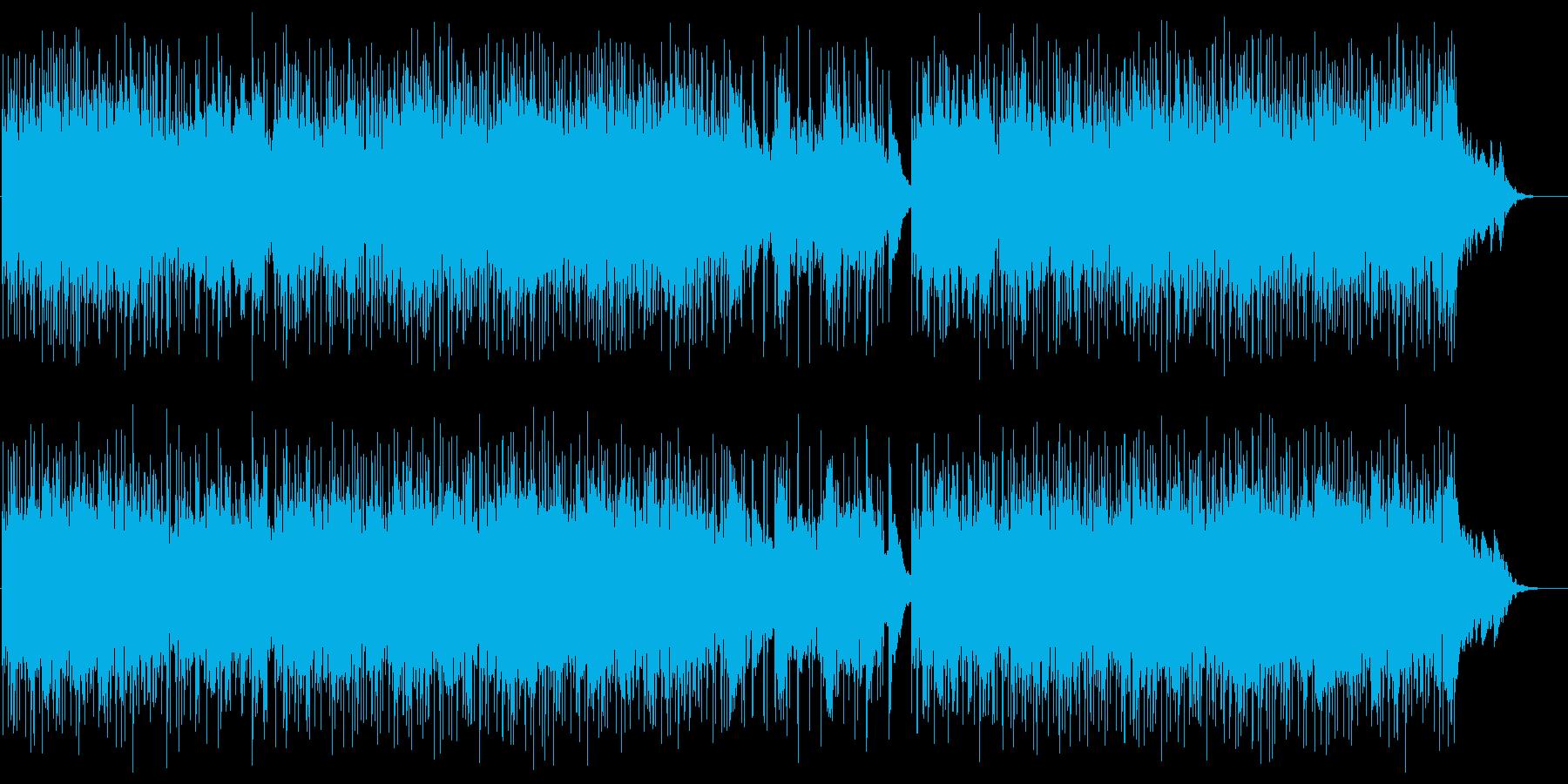 可憐で穏やかなポップサウンドの再生済みの波形