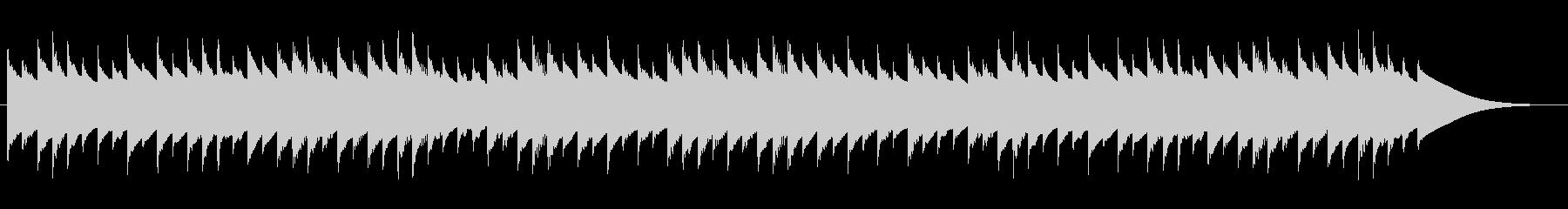 むすんでひらいて オルゴールの未再生の波形