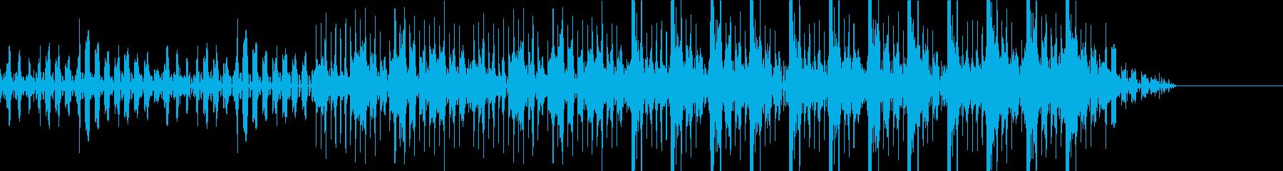 キラキラ・乙女トラップ・冬の再生済みの波形