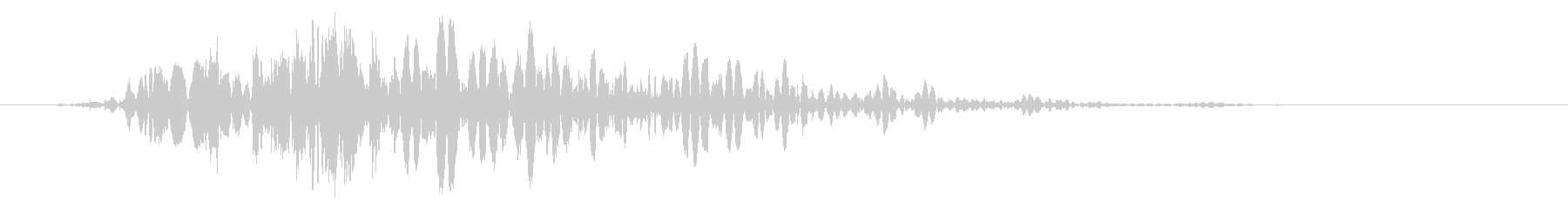 スライムなどが蠢く音 タイプB#3の未再生の波形