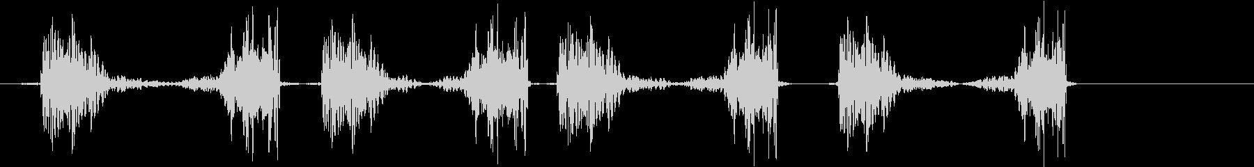 ジュクジュクジュクジュクの未再生の波形
