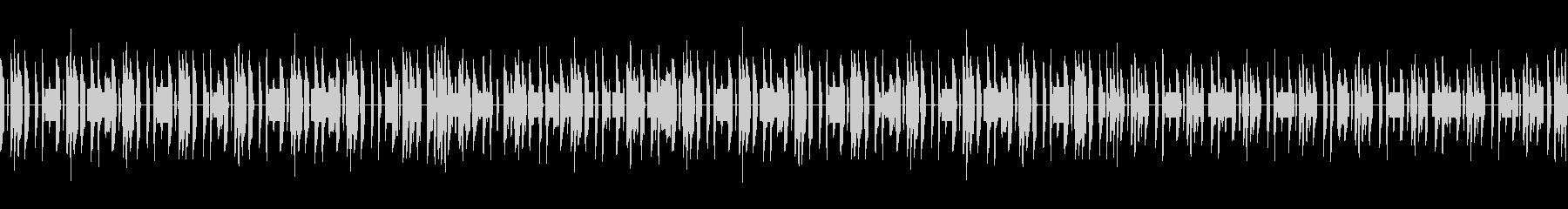 素朴な雰囲気のチップチューン楽曲の未再生の波形
