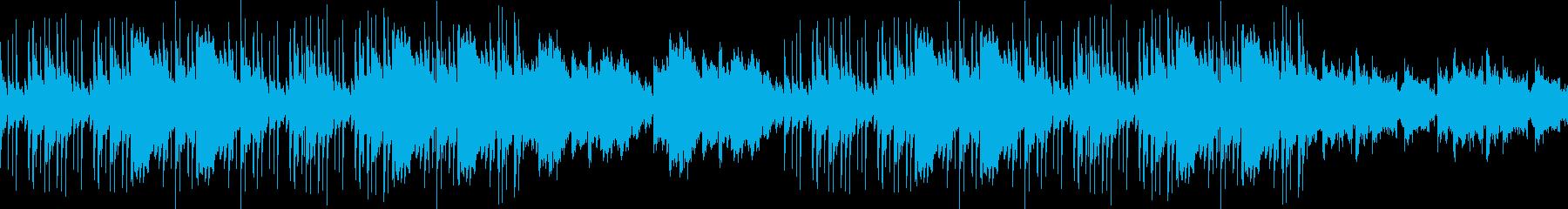かっこいい・バンド・ループジンクの再生済みの波形