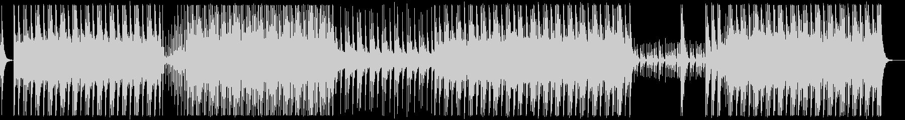 シンプルで力強い和太鼓アンサンブルBGMの未再生の波形