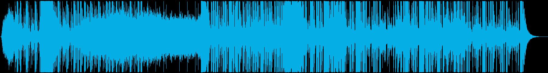 ヒップホップのインストゥルメンタル...の再生済みの波形