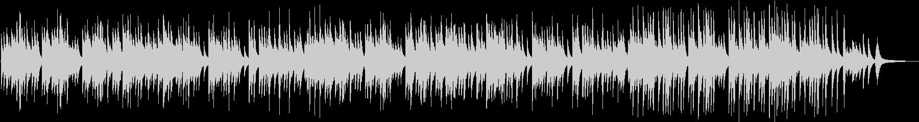 切なくも凛とした和なピアノソロBGMの未再生の波形