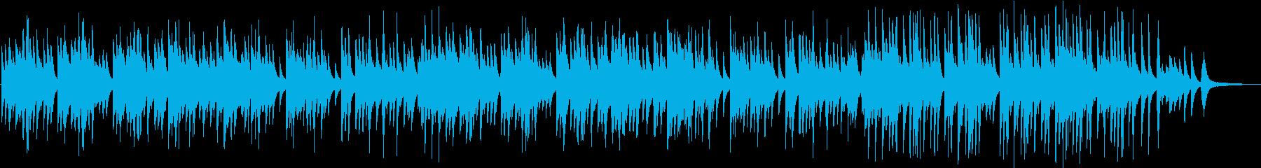 切なくも凛とした和なピアノソロBGMの再生済みの波形