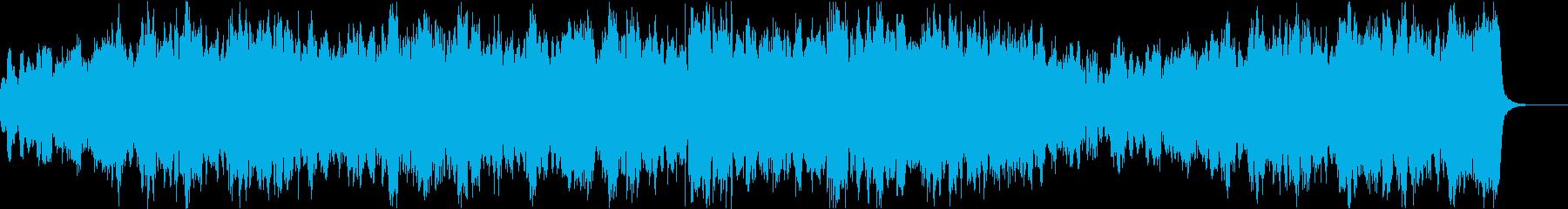 弦楽器によるクラシック風な4声のカノンの再生済みの波形