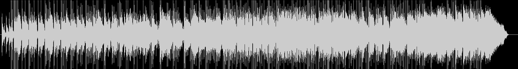 アコギ&ラップスチールUKブルースロックの未再生の波形
