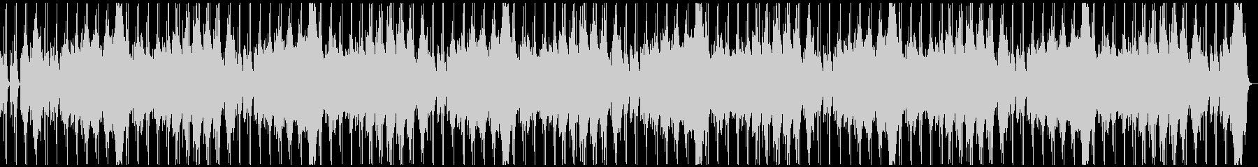 不気味に歪んだレトロな電子音のホラーLの未再生の波形