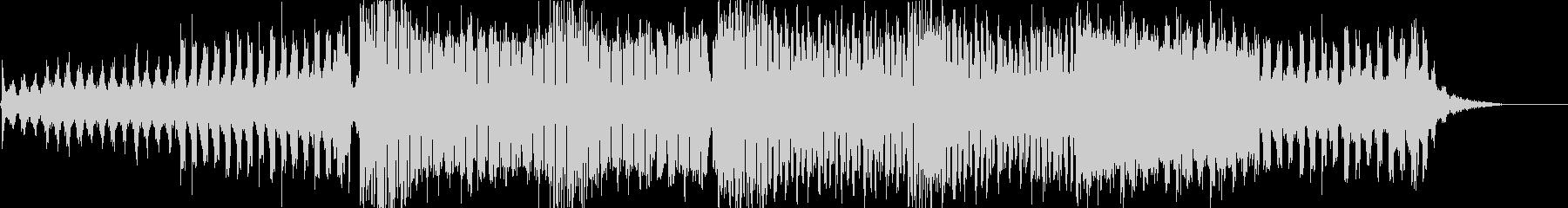 エレクトロダンス楽曲の未再生の波形