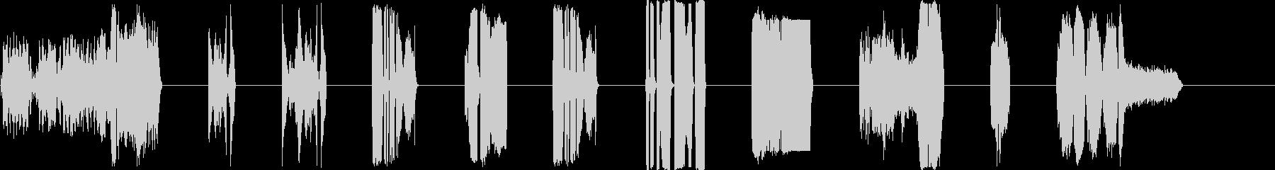 DJ Vinyl Wacklers...の未再生の波形