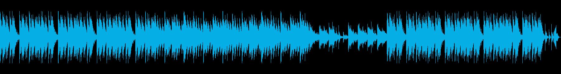 【ループ可】アングラHIPHOP系BGMの再生済みの波形