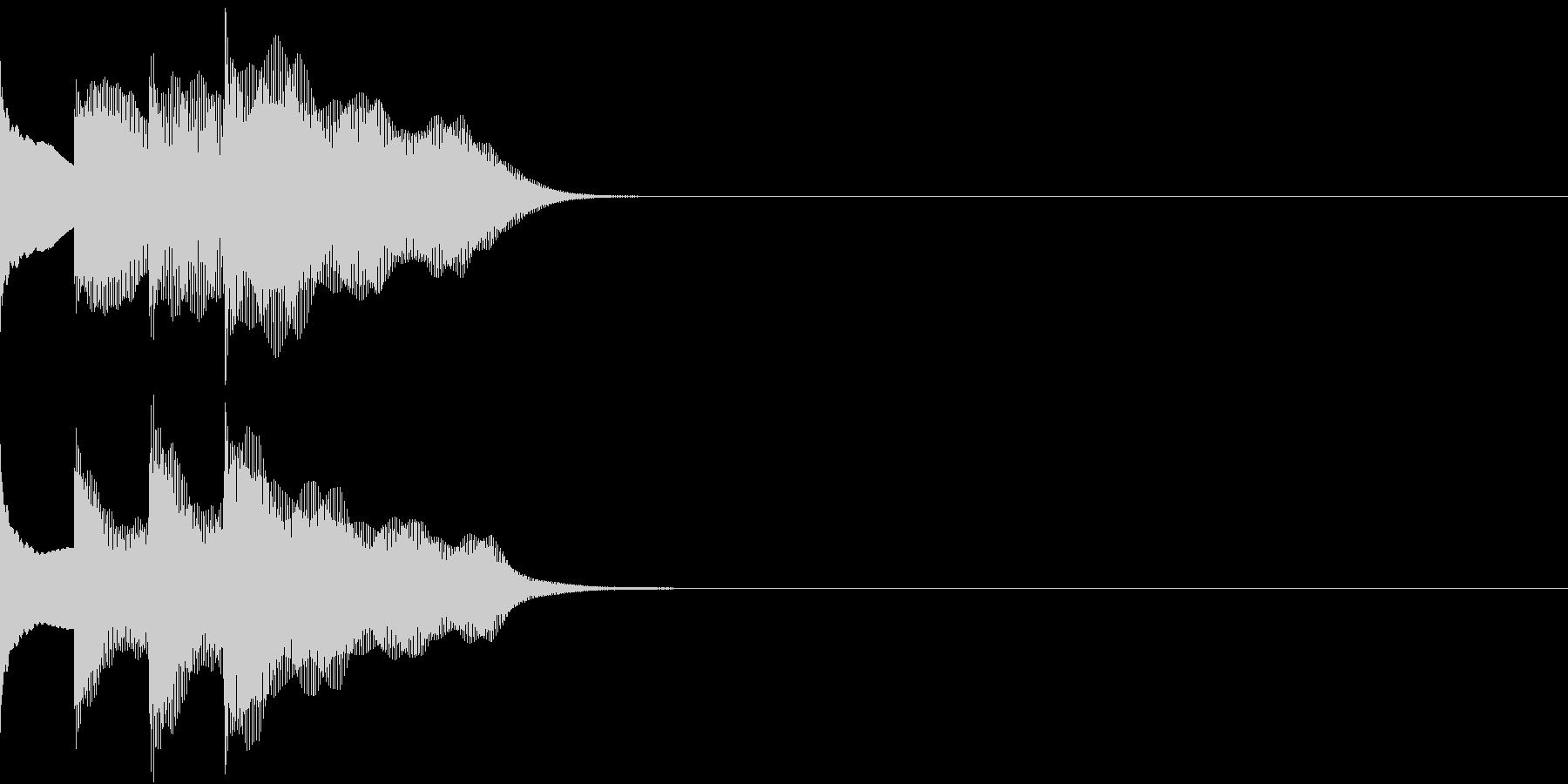 多用途効果音-07A(放送チャイム上昇)の未再生の波形