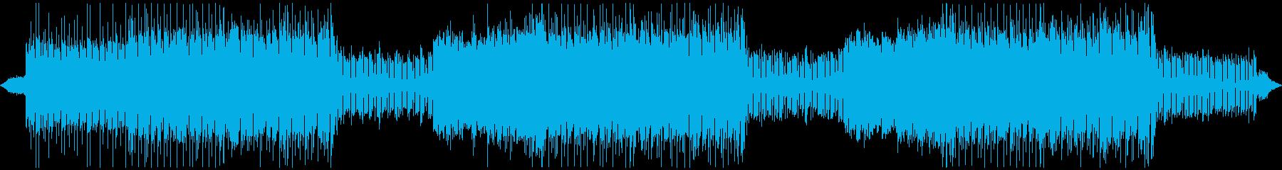 派手に盛り上がるOP・ヘビーメタルロックの再生済みの波形