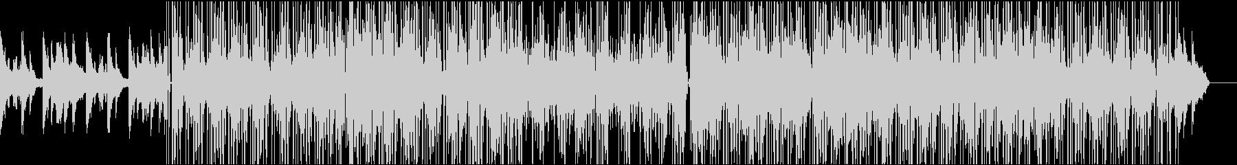 大人な雰囲気のローファイ系ヒップホップの未再生の波形