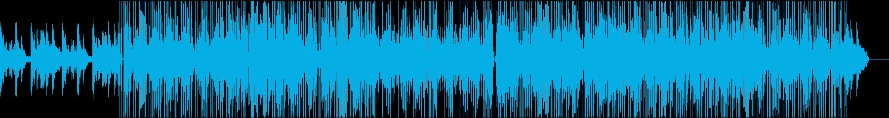 大人な雰囲気のローファイ系ヒップホップの再生済みの波形
