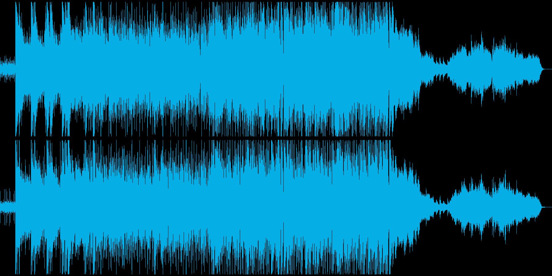 キラキラした印象のピアノのポップスの再生済みの波形