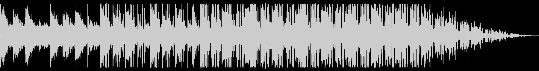 浮遊感/孤独/R&B_No437_3の未再生の波形