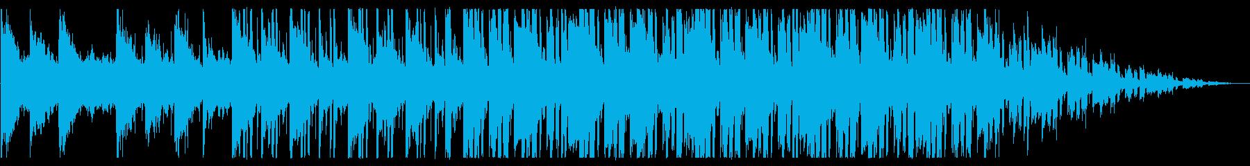 浮遊感/孤独/R&B_No437_3の再生済みの波形