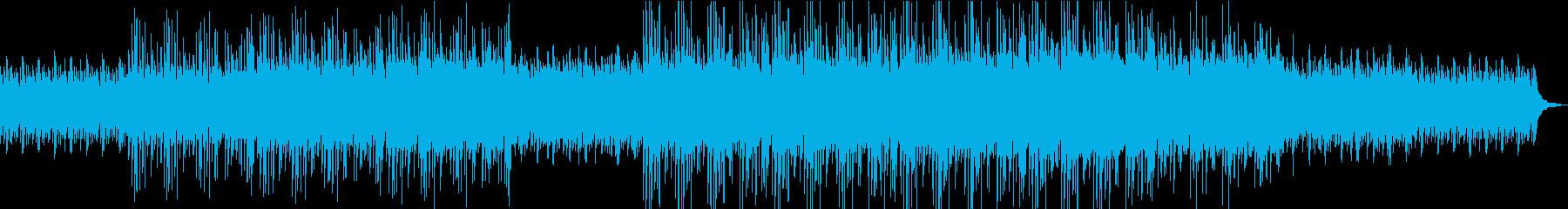 心をほぐす温かで美しい幻想的な曲の再生済みの波形