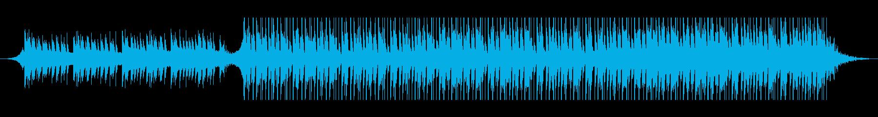 アラビア語(90秒)の再生済みの波形