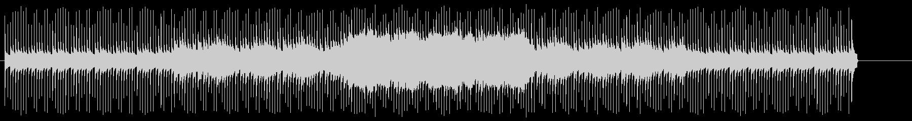 脱力感のあるテクノ/BGの未再生の波形