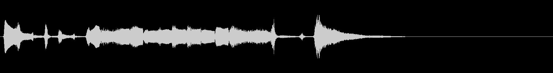 【生演奏】アコーディオンジングル47の未再生の波形