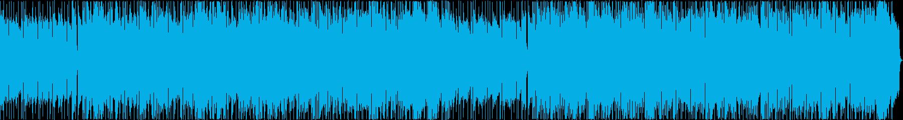 朝もやがかかっているかのようなバラードの再生済みの波形