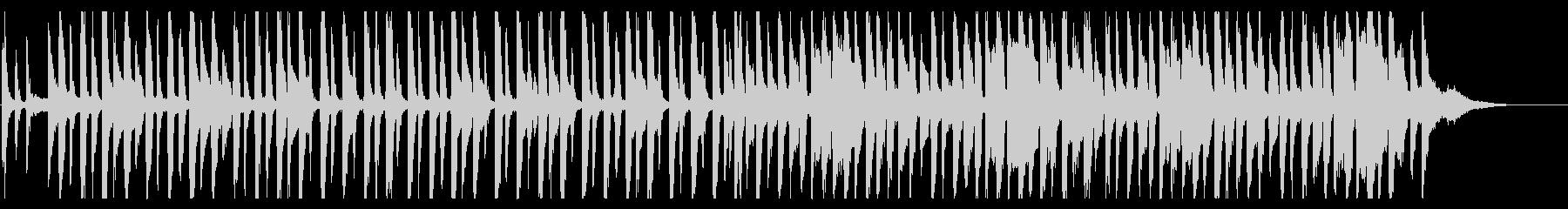 ラフなレゲエ_4の未再生の波形