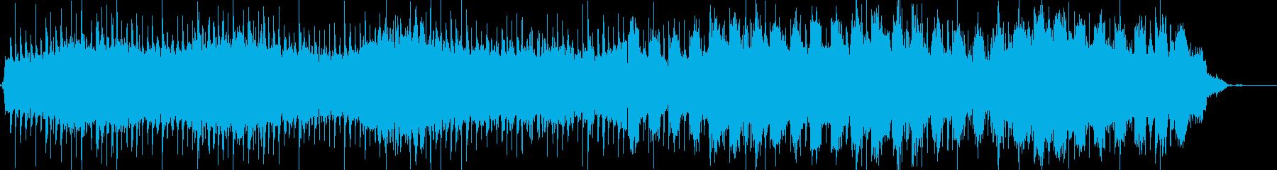 サイエンス実験 科学 教育 理科 近未来の再生済みの波形