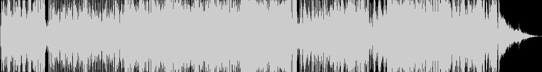 都会的なイメージのゴージャスなBGMの未再生の波形