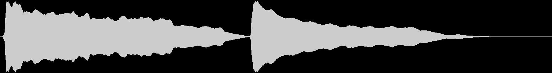 とうふ屋ラッパ (ゆっくりトゥ~フゥ~)の未再生の波形