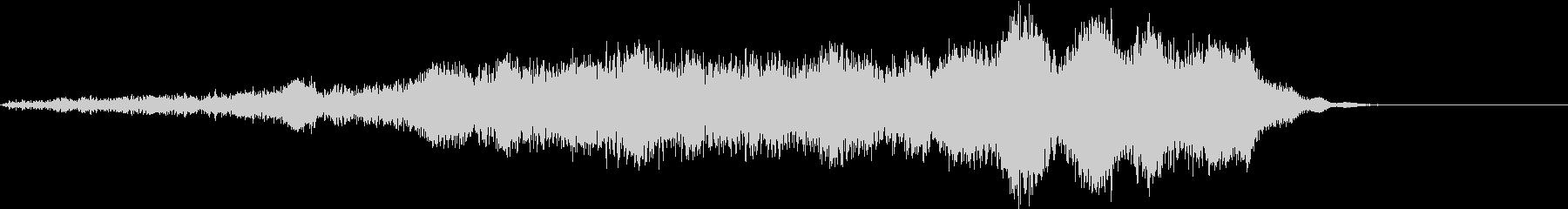ホラー 近く 接近 恐怖 金属音 18の未再生の波形