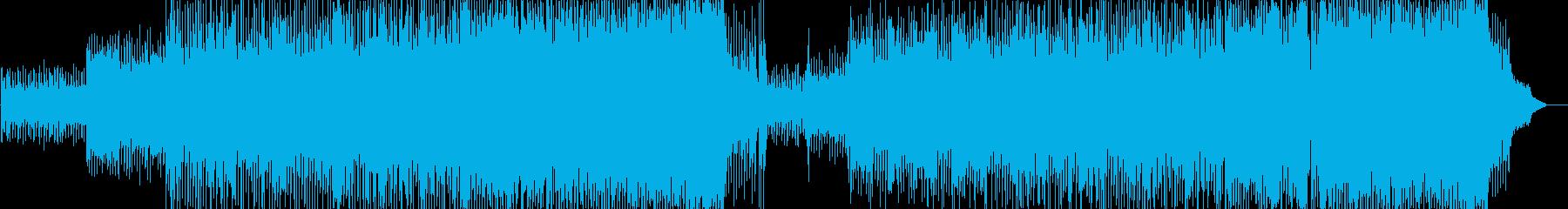軽快 元気 情報 CM 店内 いきいきの再生済みの波形