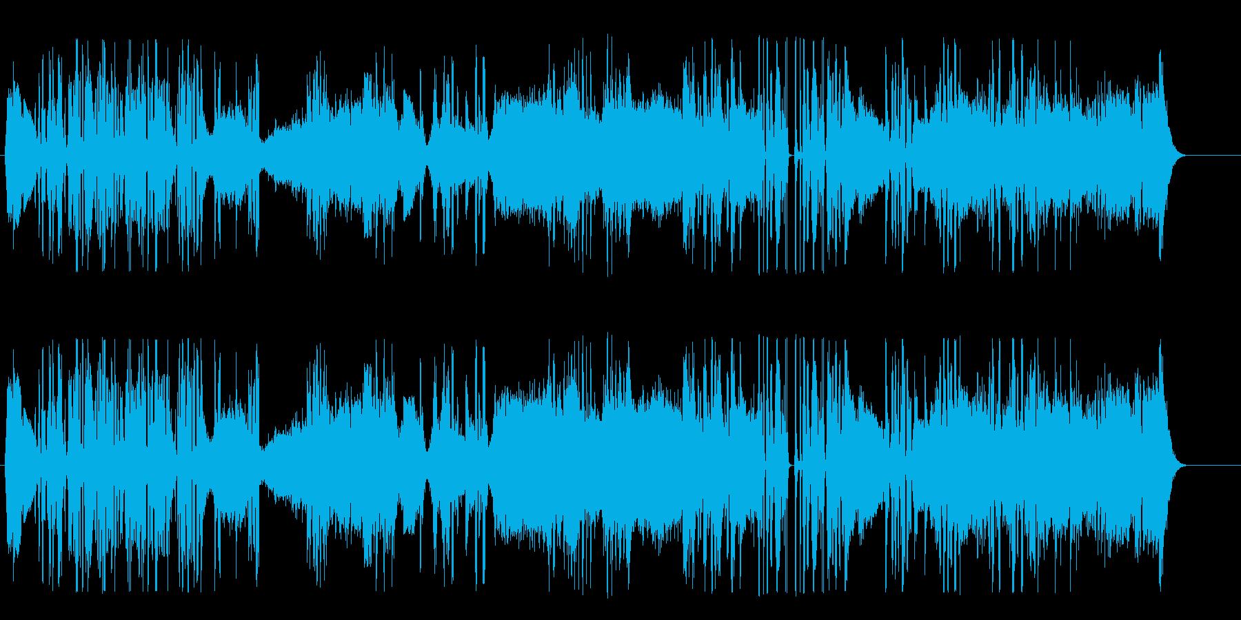 イントロデモの再生済みの波形