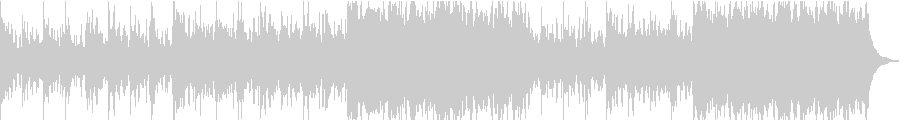 Ambient Pianoの未再生の波形