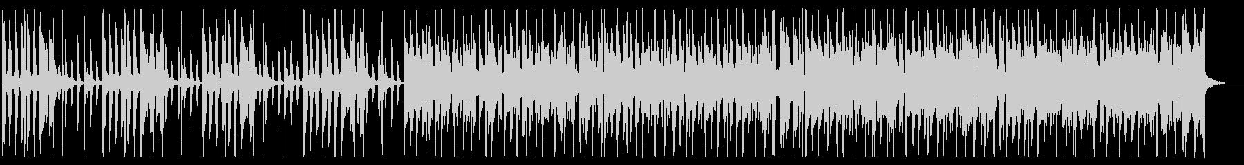 土臭い/ファンク_No497_3の未再生の波形