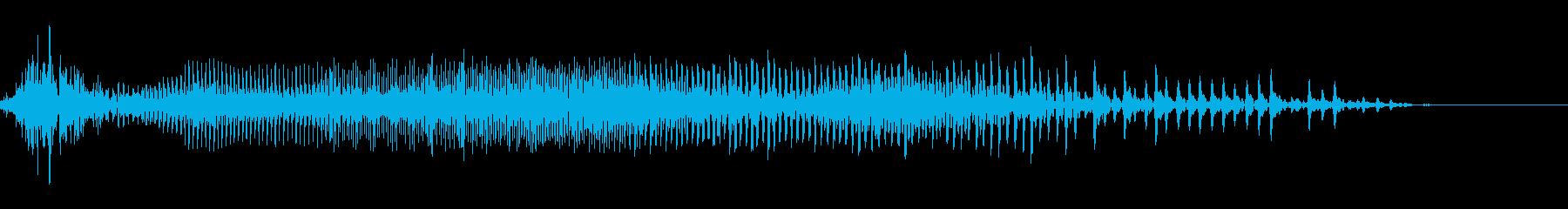 てぁあ!(掛け声・攻撃)の再生済みの波形