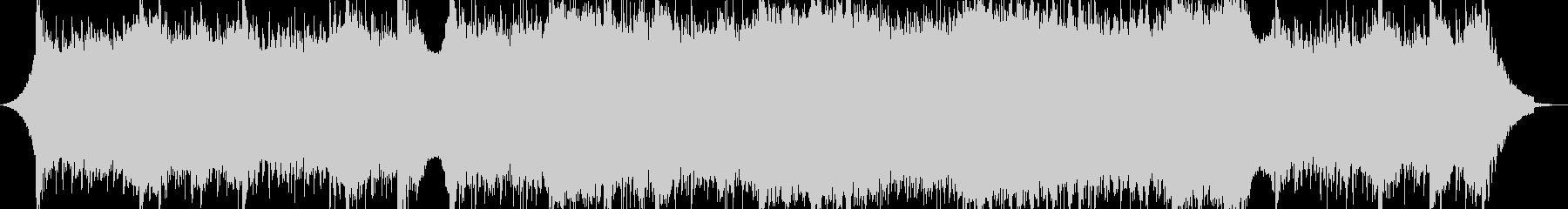 大気の深い電子の抽象的な音楽の未再生の波形