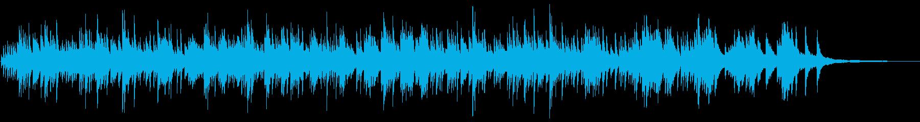 メロディが美しく印象的 生演奏のピアノの再生済みの波形