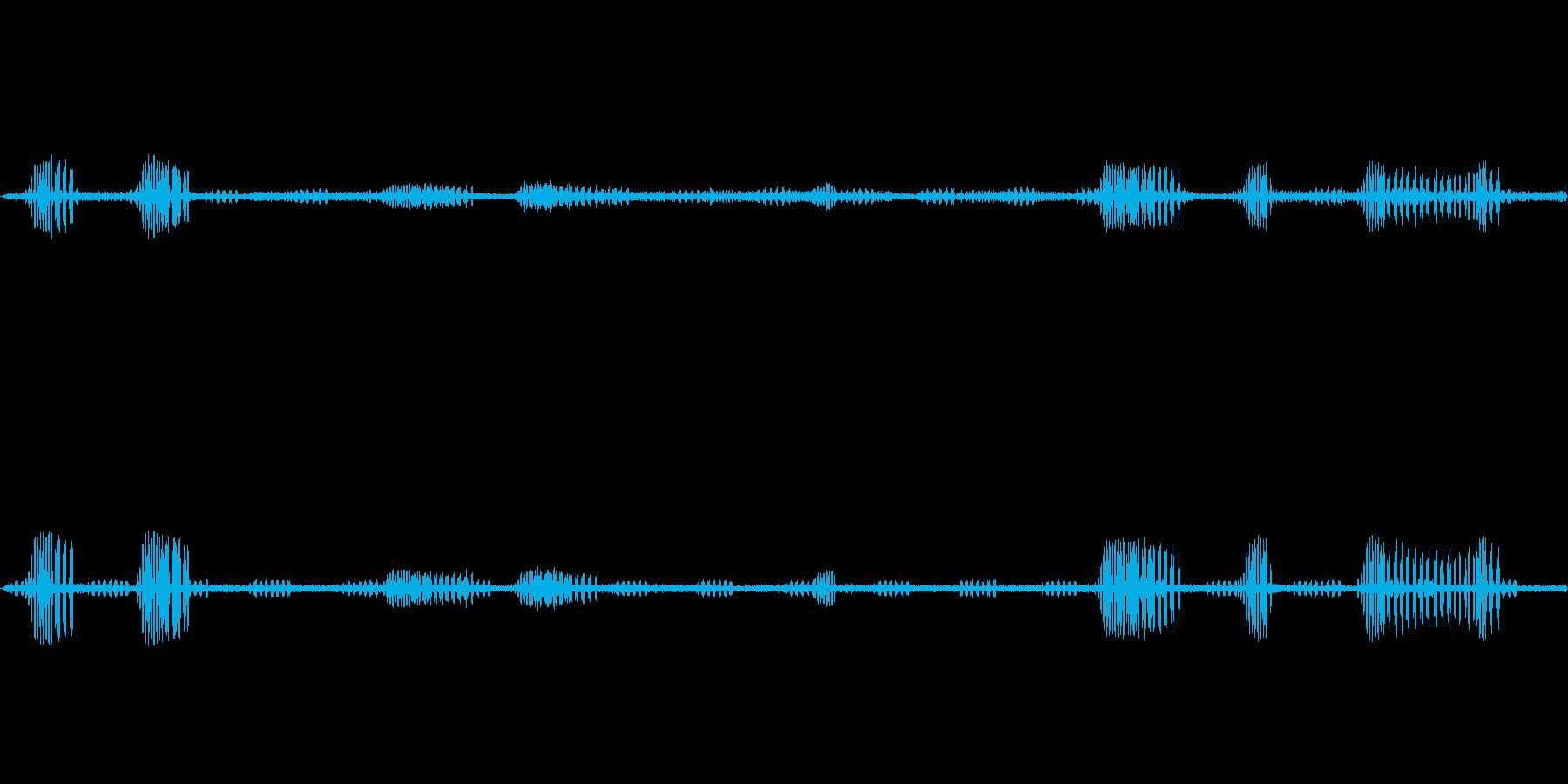 鈴虫,コオロギ/秋の夜/ループ可能!01の再生済みの波形