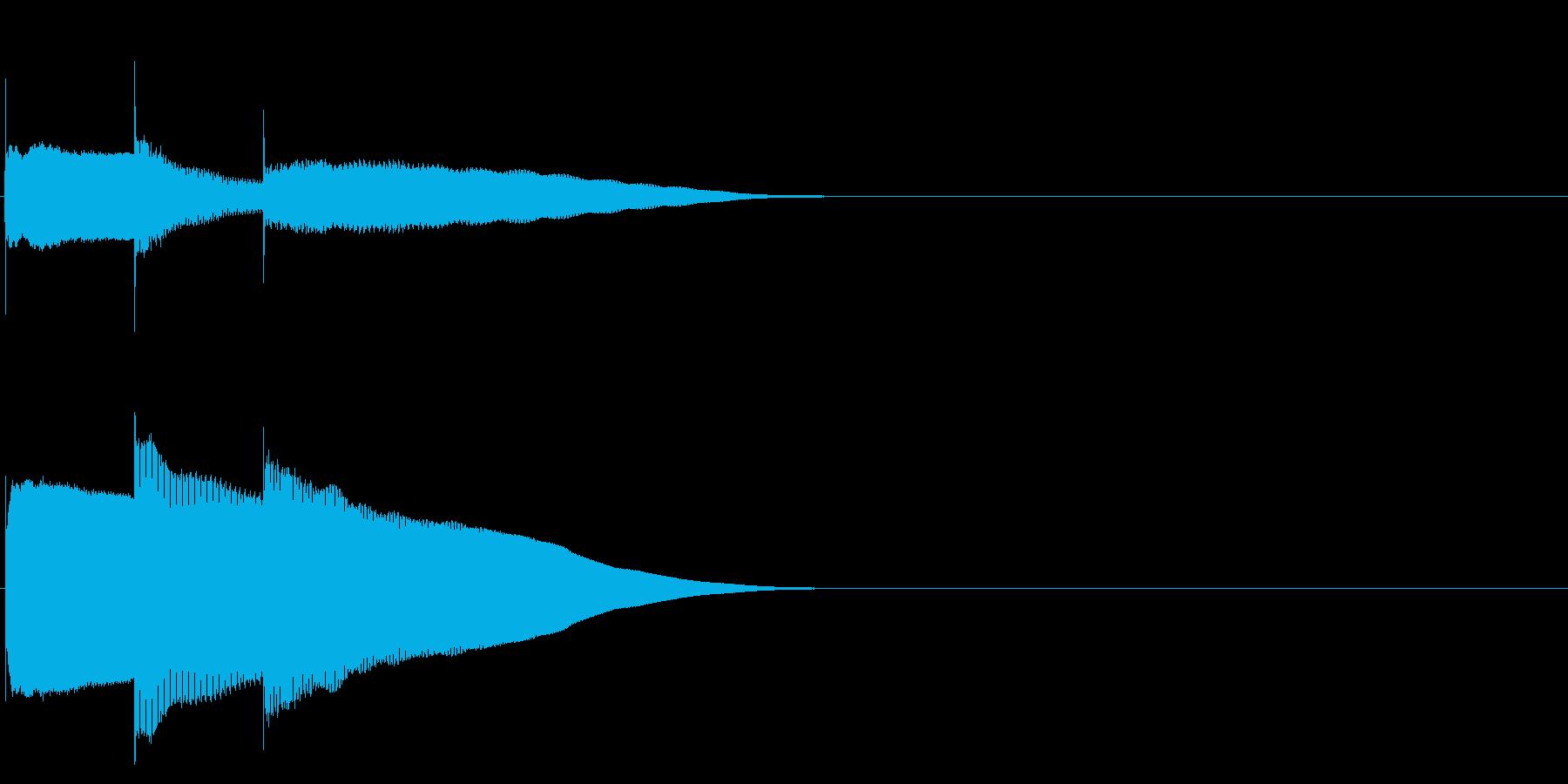 グロッケン系 決定音06(中)の再生済みの波形