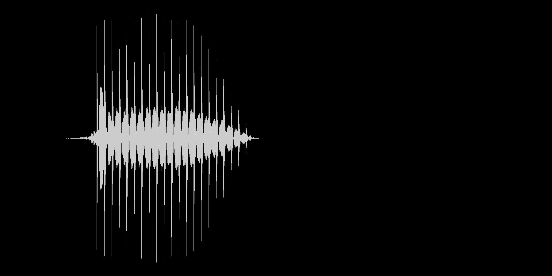 ゲーム(ファミコン風)セレクト音_010の未再生の波形