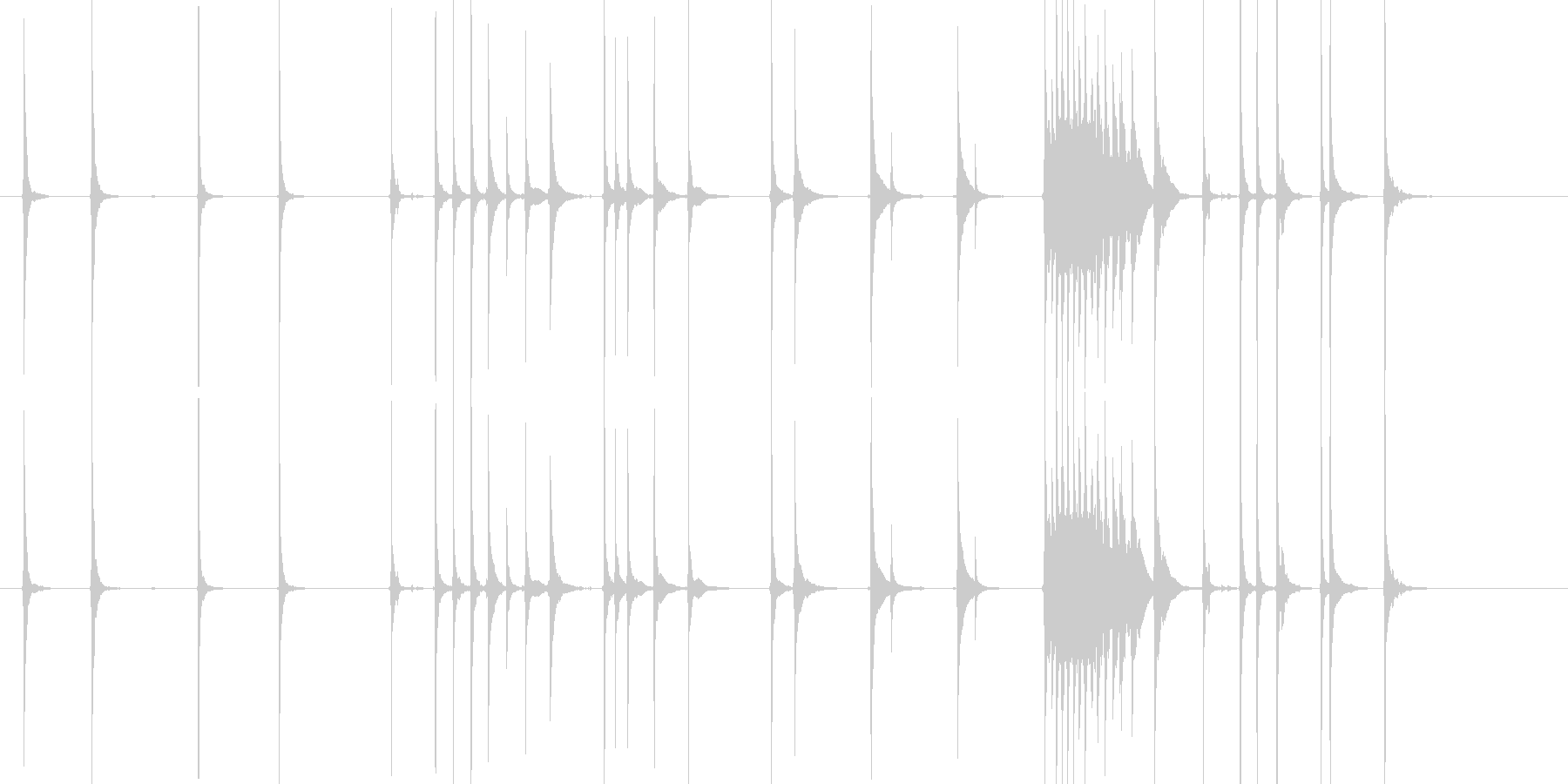 三味線108連獅子1それ歌舞伎生音和風親の未再生の波形