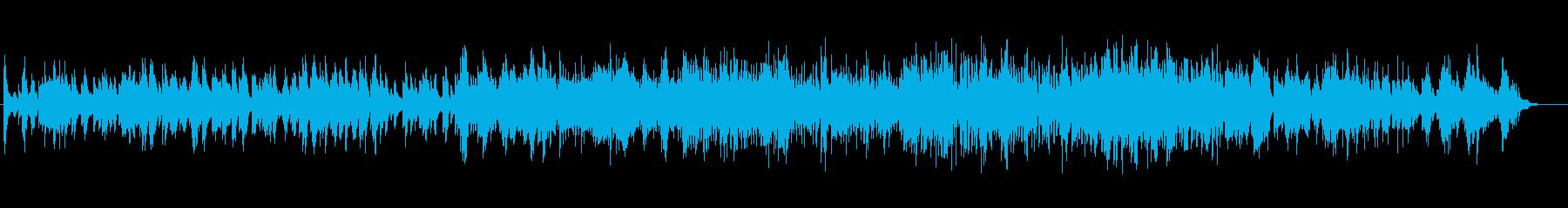 クールでハードボイルドな雰囲気のジャズの再生済みの波形