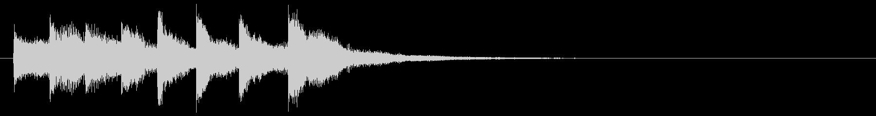 KANT アプリジングル01031の未再生の波形