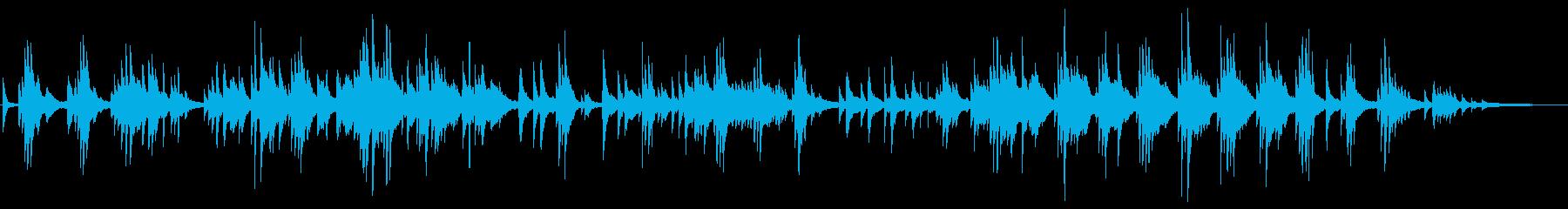 ヒーリング系 優しい旋律のピアノソロの再生済みの波形