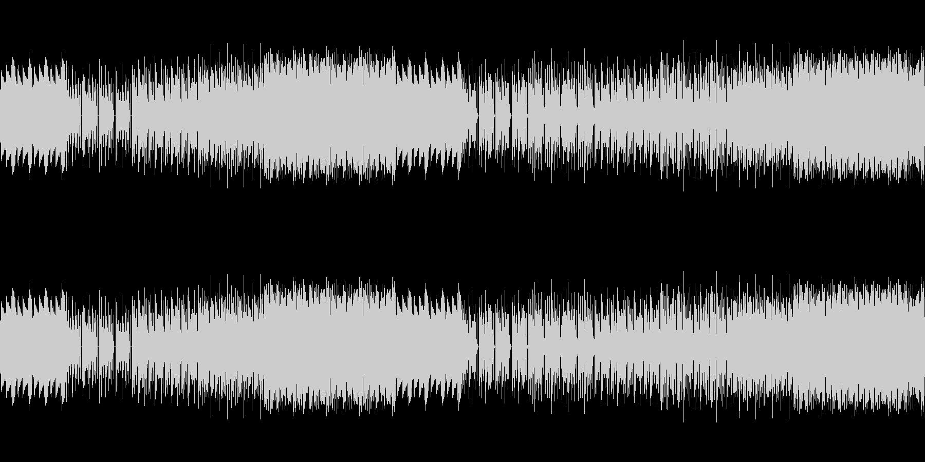 8ビットゲームサウンドBGM 05の未再生の波形